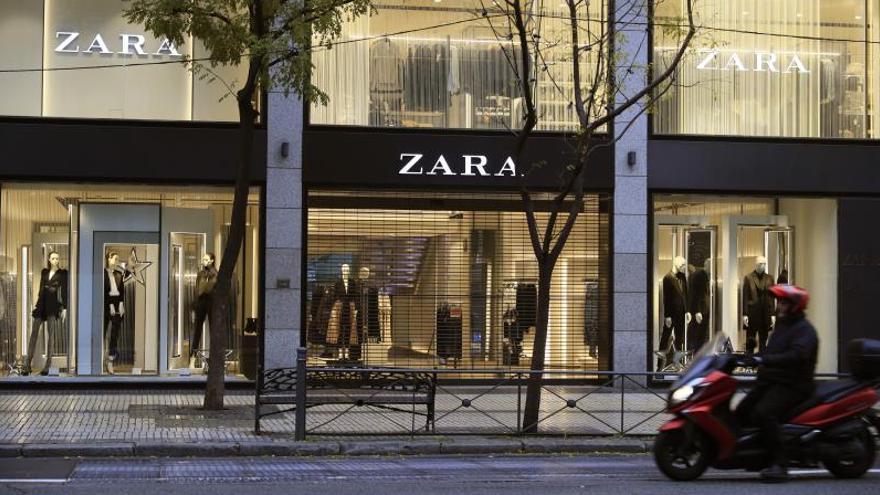 Inditex cierra sus tiendas en Madrid, La Rioja, Vitoria y Miranda de Ebro