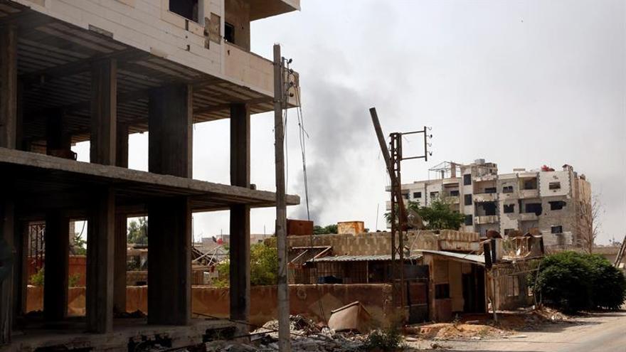 Estallan nuevos choques entre rebeldes y el régimen en los alrededores de Damasco