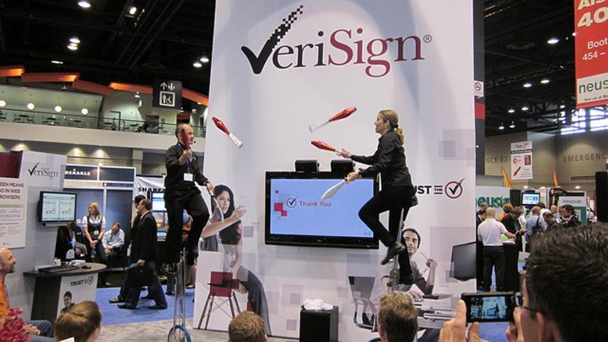 Verisign es uno de los sellos que aparecen en las páginas web