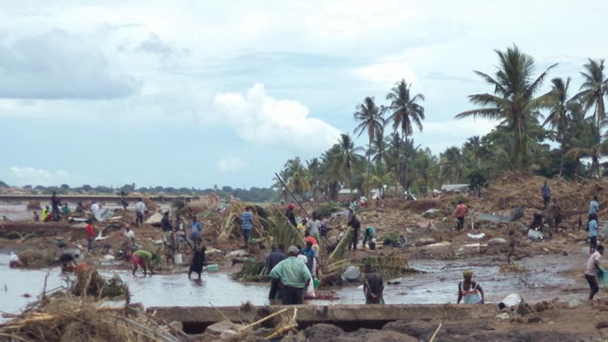 Miles de casas han sido destruidas por el agua