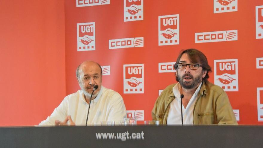 Joan Carles Gallego i Camil Ros en una foto d'arxiu