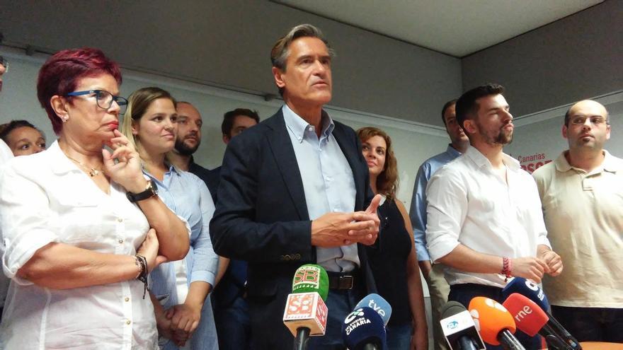 """López Aguilar aspira a liderar el PSOE en Canarias para evitar """"otros veinte años"""" de gobierno de CC y PP"""