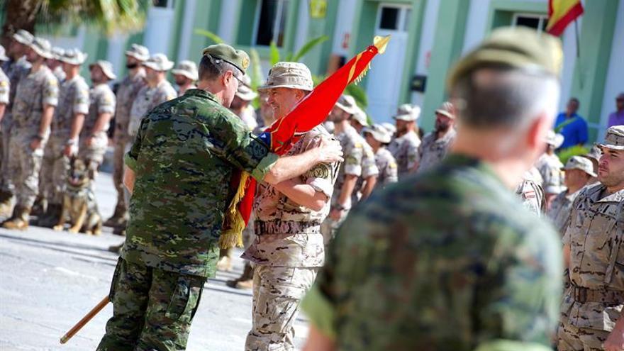 Unos 350 militares del Mando de Canarias formarán el contingente de Apoyo a Irak