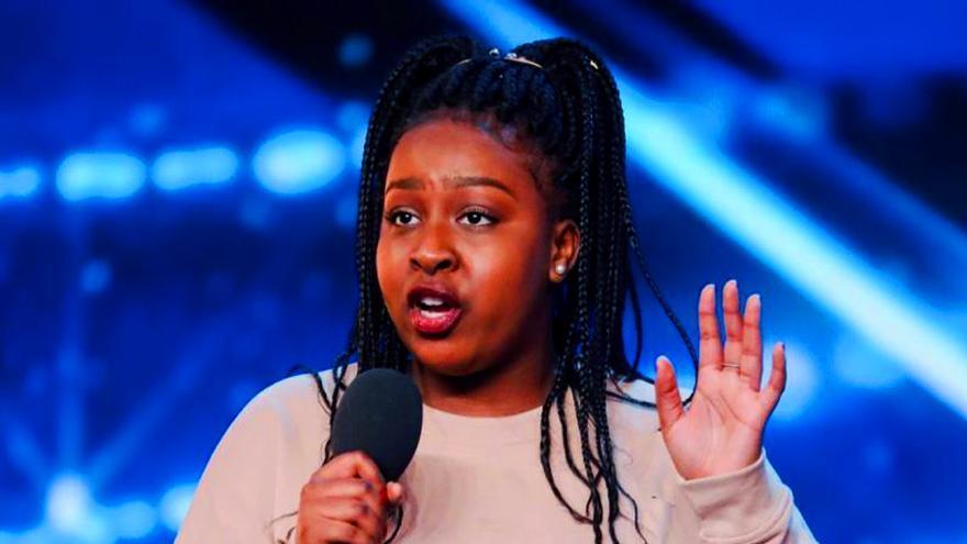 Sarah Ikumu en 'Britain's Got Talent'