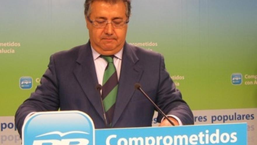 Juan Ignacio Zoido, En Rueda De Prensa