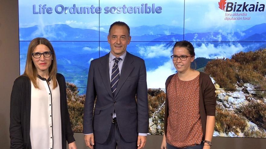 Culmina la restauración de la Turbera del Zalama y la zona de pastos dentro del programa LIFE+ 'Ordunte sostenible'