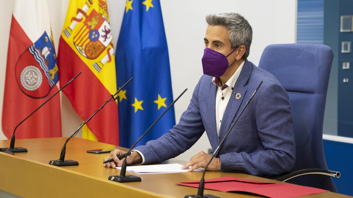 El vicepresidente autonómico y portavoz del Gobierno de Cantabria, Pablo Zuloaga.
