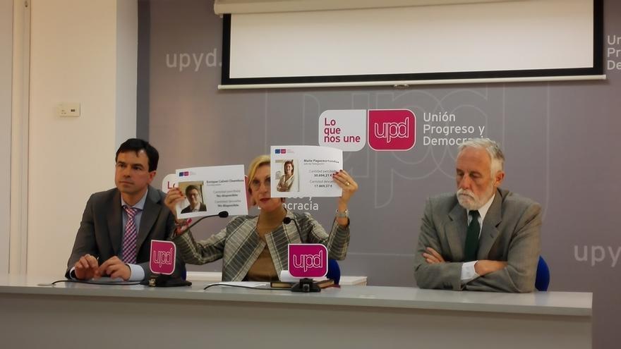 Rosa Díez arremete contra el eurodiputado crítico y le amenaza con la expulsión si no rinde cuentas