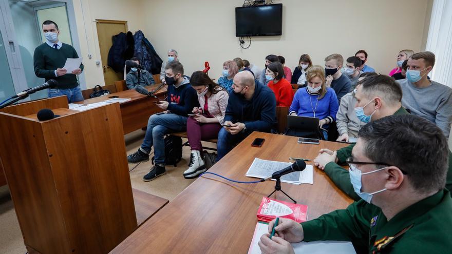 La vista del recurso de Navalni por su envenenamiento seguirá el lunes