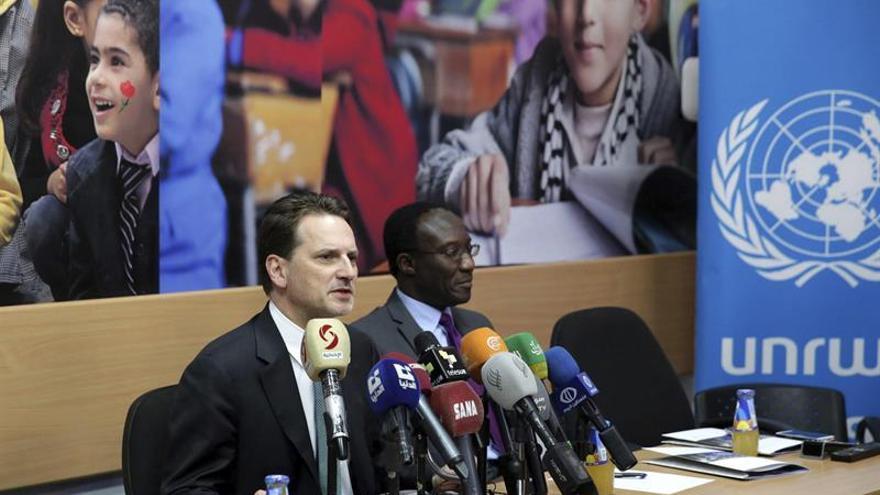La UNRWA busca fondos para evitar una nueva crisis de financiación