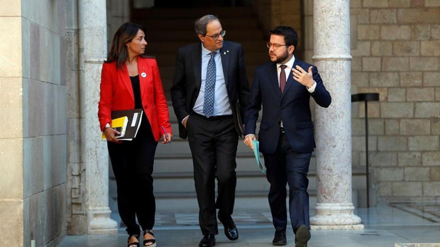 """El Govern inicia acciones legales por el informe del """"procés"""" de España Globa"""