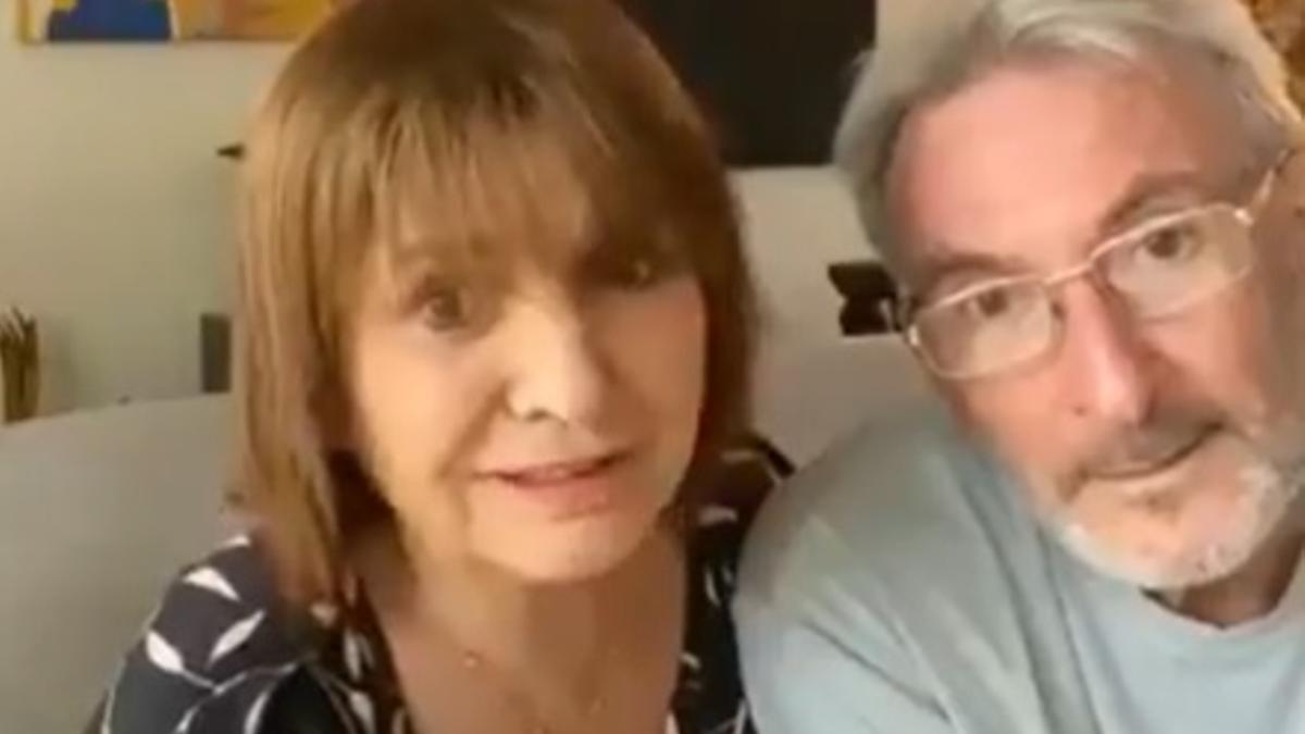 Patricia Bullrich despidió su intenso año en redes sociales junto a Guillermo Yanco, su marido.