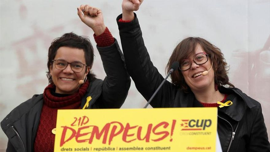 """La CUP pide a ERC que abandone el """"diálogo de sordos"""" y defienda la vía unilateral"""