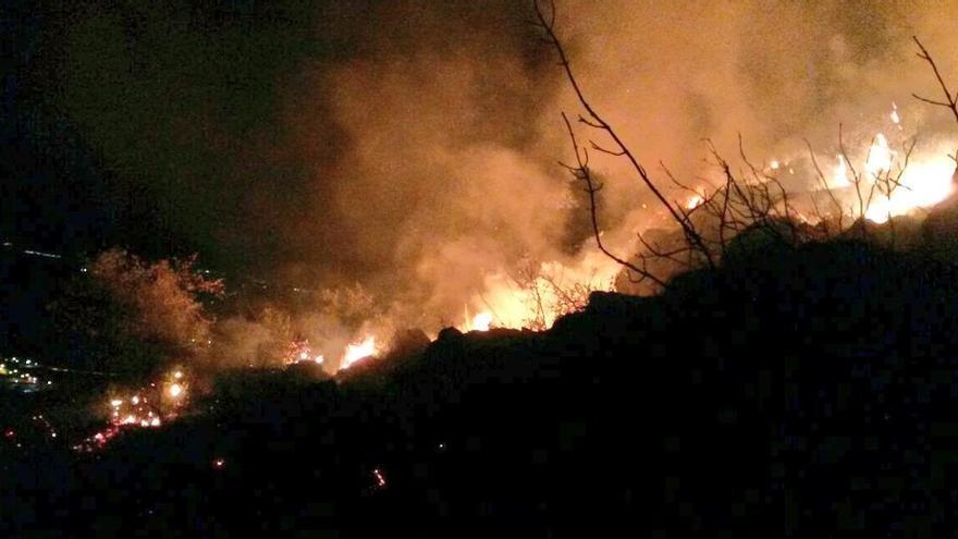 El fuego se ha declarado en la tarde de este viernes / @Junta_Agricultu