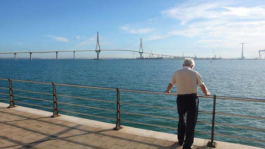 Puente de Cádiz, días antes de su inauguración tras diez años de obra /FOTO: Francisco Jiménez