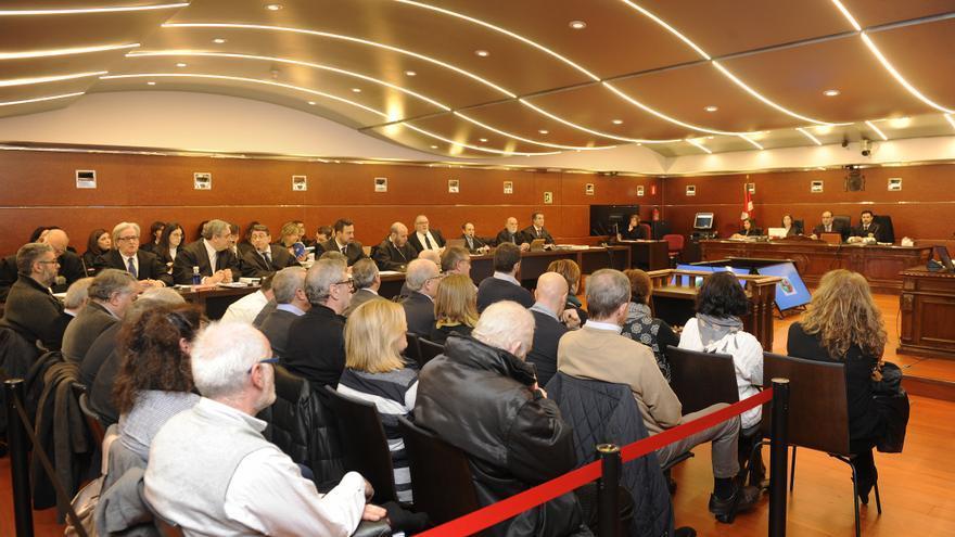 Vista de una sesión del juicio del 'caso De Miguel'