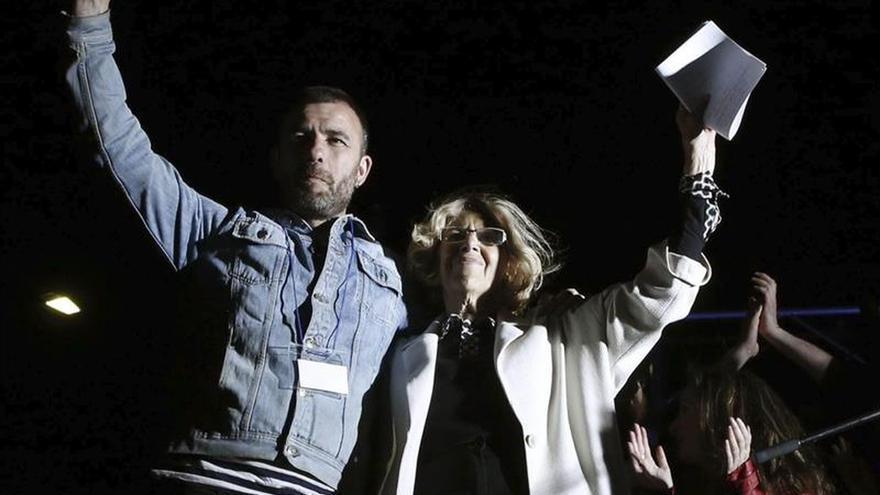 """Carmena afirma que ha ganado el cambio y el reto es hacer de Madrid una ciudad """"decente"""""""
