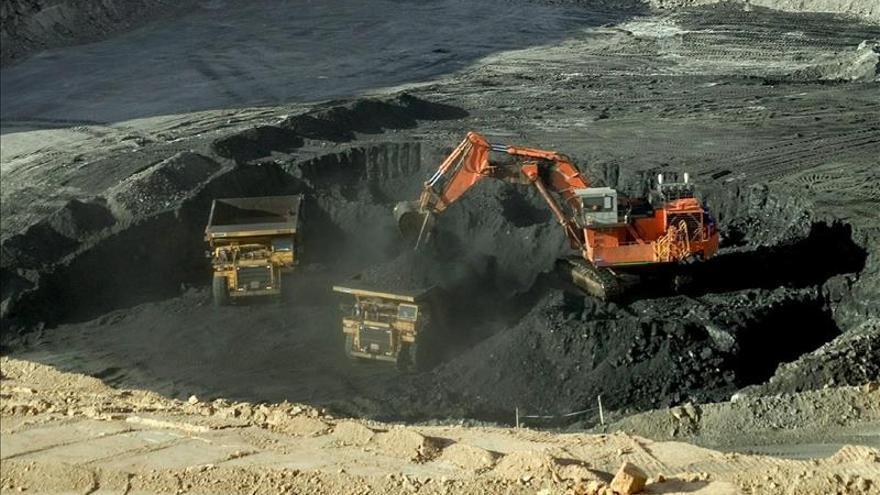 La producción colombiana de carbón cae un 2,5 por ciento en los primeros nueve meses de 2015