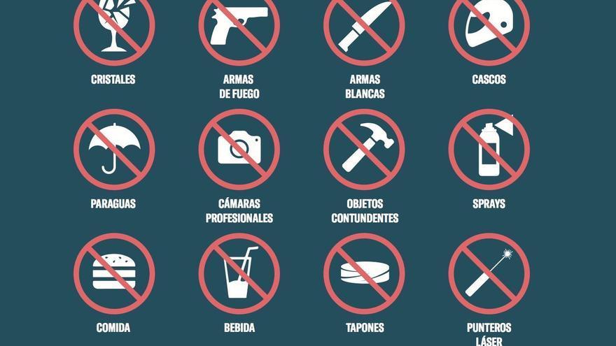 Objetos prohibidos