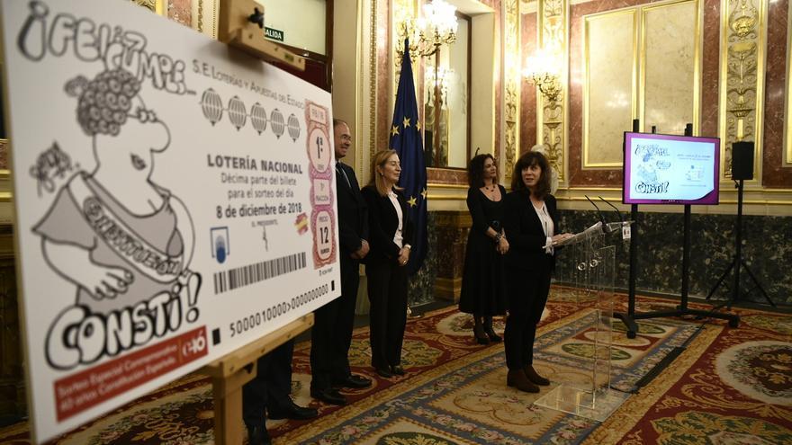 El Congreso acoge mañana un sorteo de Lotería Nacional con motivo del aniversario de la Constitución