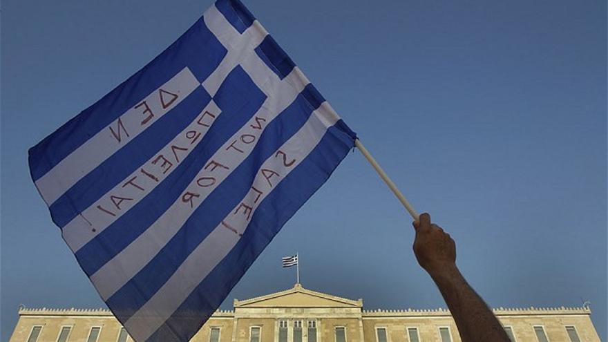 Jóvenes precarios en Grecia
