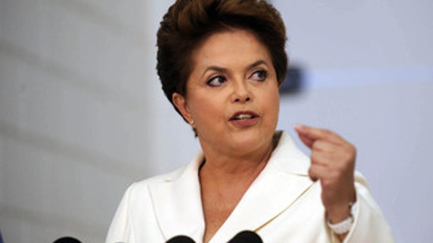 Dilma Rousseff, candidata a la Presidencia de Brasil.
