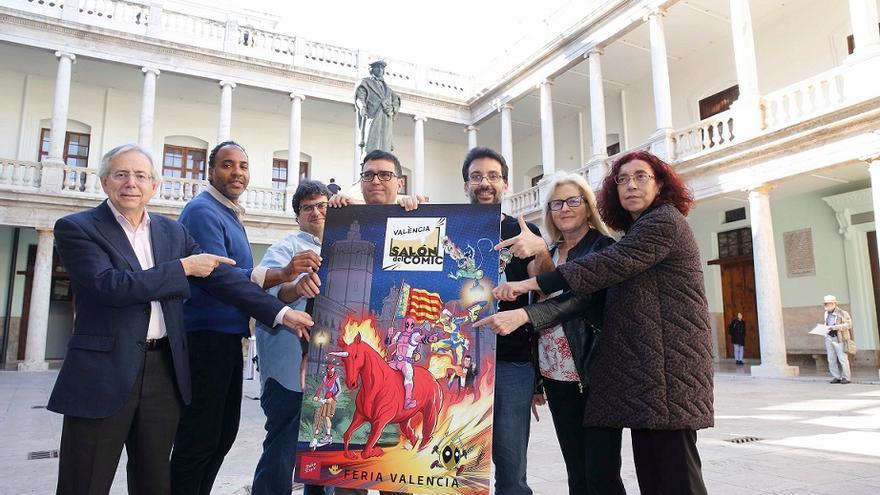 Presentación del cartel del Salón del Cómic de València