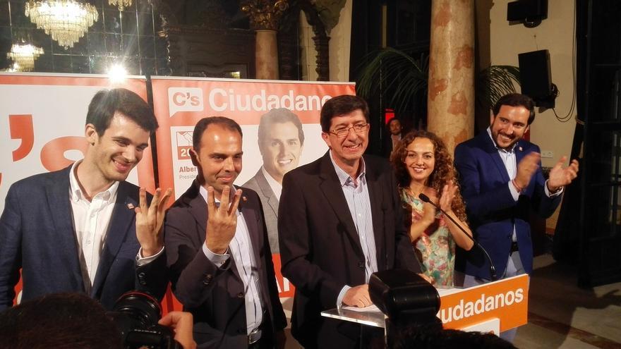 """C's presume de volver """"a hacer historia"""" en Andalucía y asegura que su proyecto se ha """"consolidado"""""""