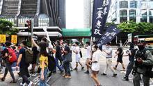 Hong Kong cumple 23 años bajo soberanía china con ley de seguridad en vigor