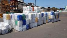 Parte de los residuos recogidos por Asprocan en su campaña.