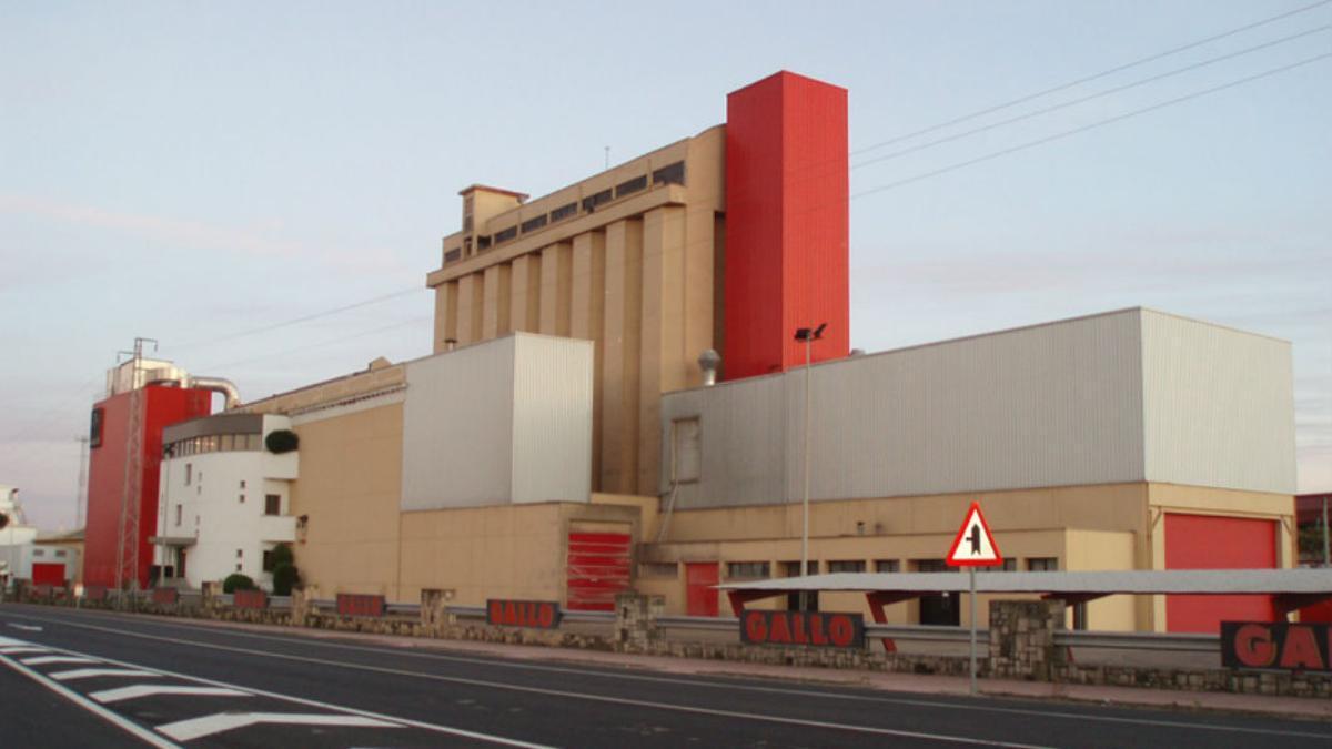 Fábrica de Pastas Gallo en El Carpio.