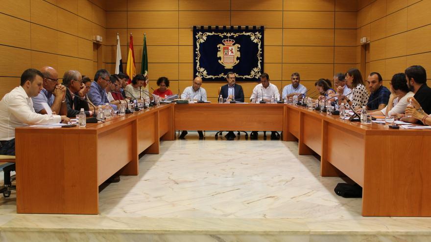 Pleno del Cabildo de Fuerteventura celebrado el 9 de noviembre