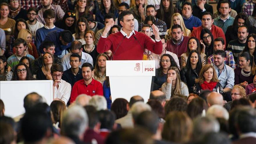 """El PSOE cree que Sánchez """"va a más"""" y que las encuestas no son """"creíbles"""""""