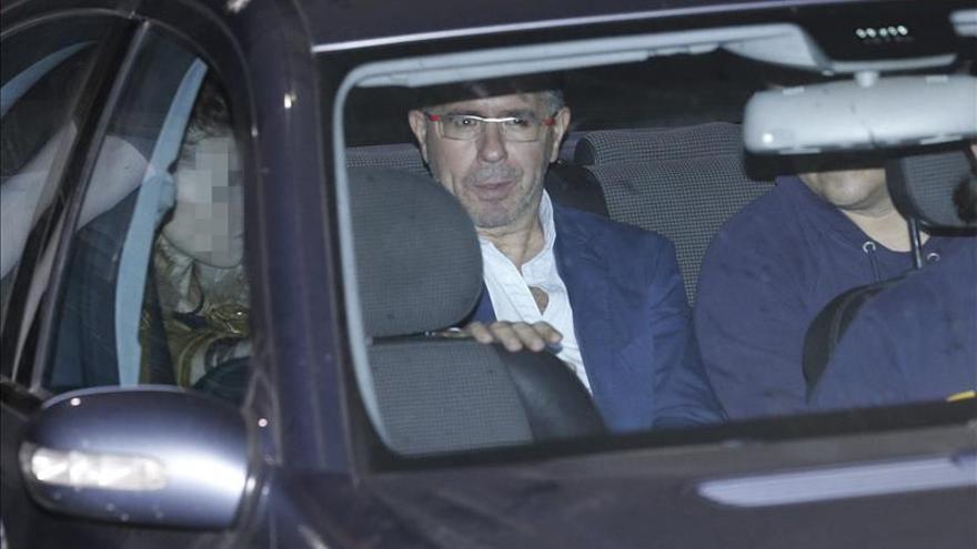 El exsecretario general del PP de Madrid Francisco Granados trasladado en un vehículo policial