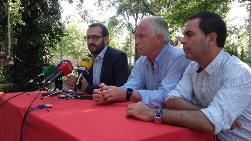 El eurodiputado Sergio Gutiérrez en Talavera de la Reina / Europa Press