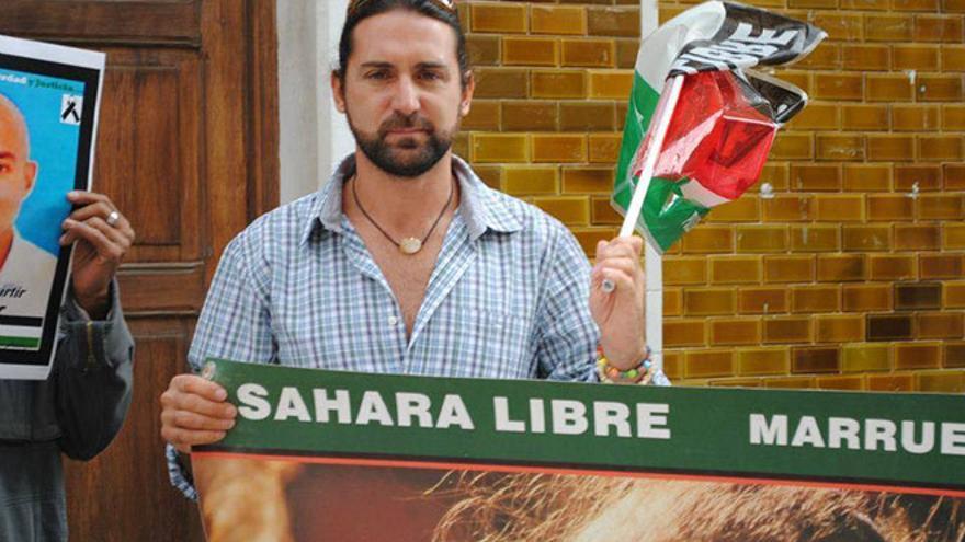 El ex coordinador de Izquierda Unida (IU) en Lanzarote, Manuel Garzón. Foto : Diario de Lanzarote