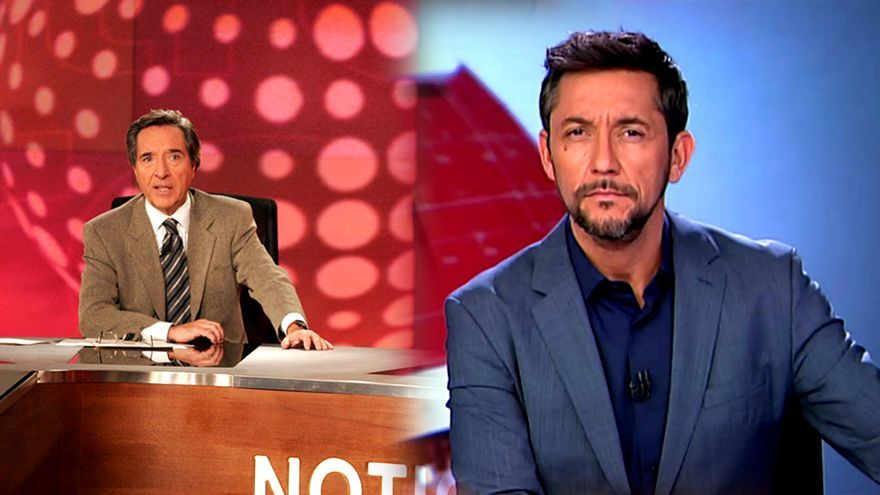 Iñaki Gabilondo y Javier Ruiz, en Noticias Cuatro