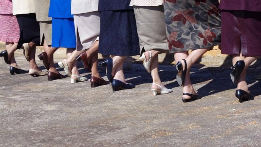 Las muchas de Mariantònia Oliver, un proyecto realizado con mujeres mayores de setenta años