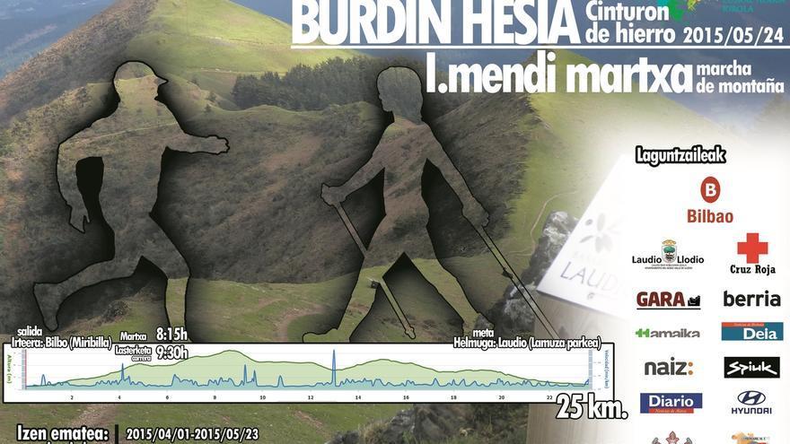 La carrera de montaña 'Cinturón de Hierro' unirá por tercer año consecutivo Bilbao y Llodio
