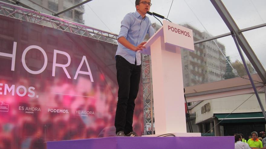 Errejón (Podemos) cree que Asturias marcará el inicio del cambio que se consumará en Otoño