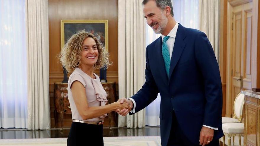 El rey recibe a Batet en Zarzuela para concretar la ronda de consultas