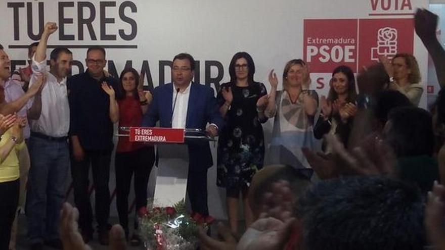 Vara, Extremadura, PSOE, victoria