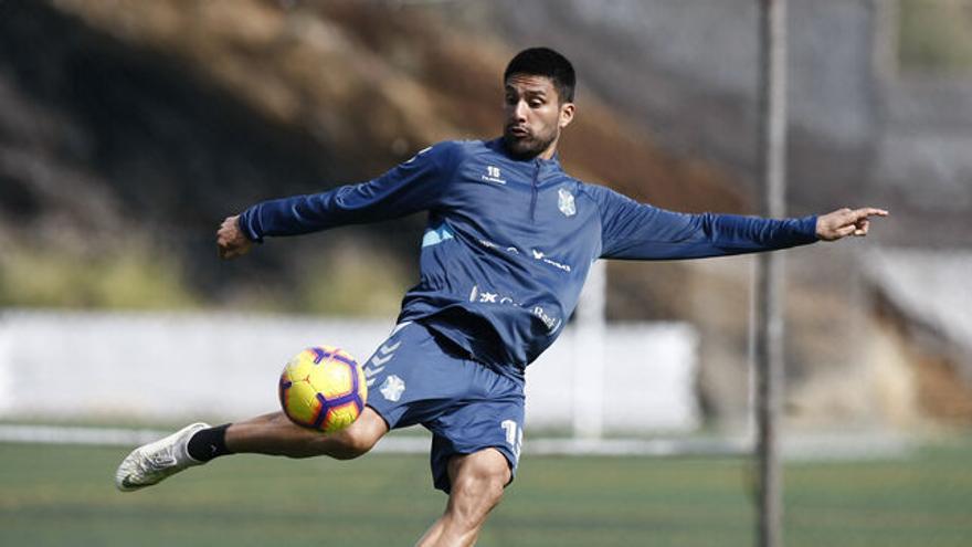 Mauro dos Santos, en un entrenamiento en El Mundialito
