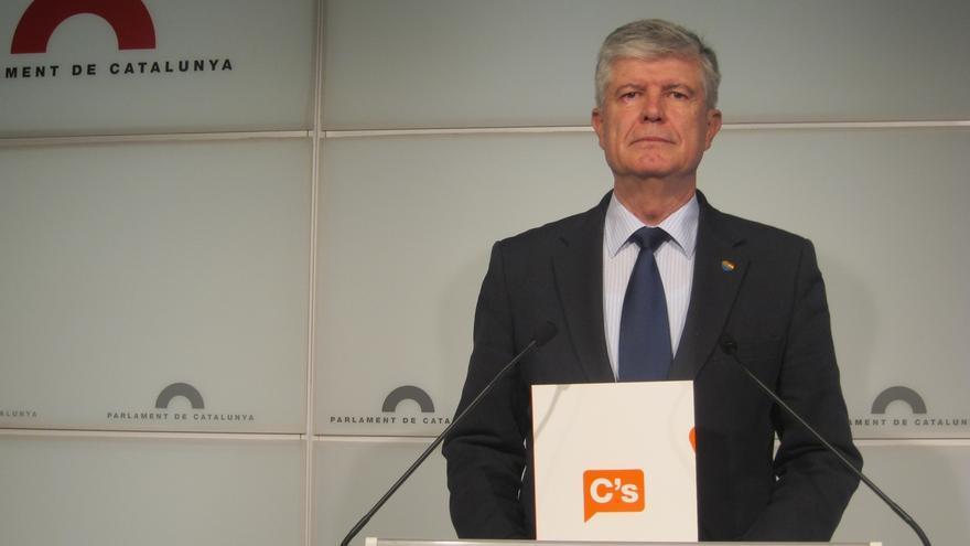 """Alonso (C's) critica que Rajoy y Mas """"necesitan el frentismo y crear un enemigo político"""""""