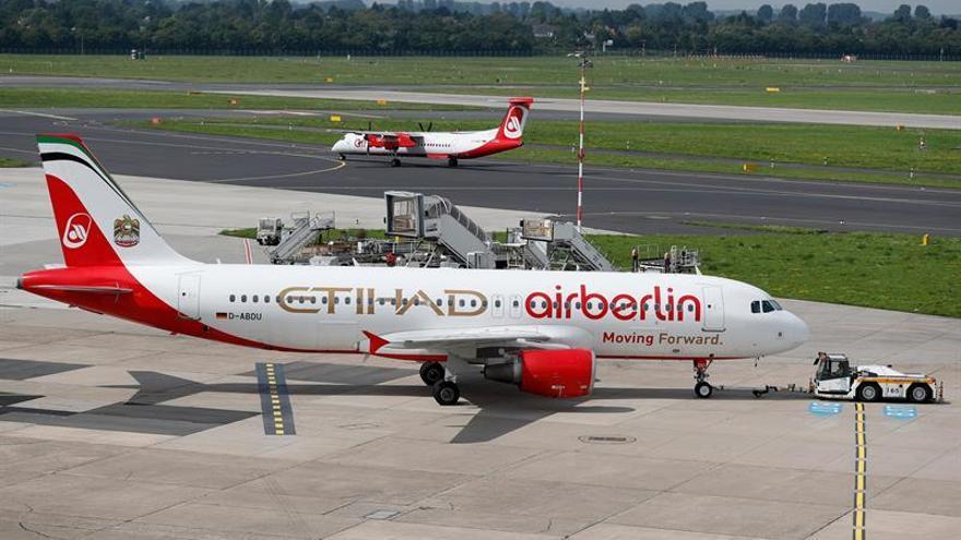 Más de 100.000 clientes Air Berlin no serán compensados por vuelos cancelados