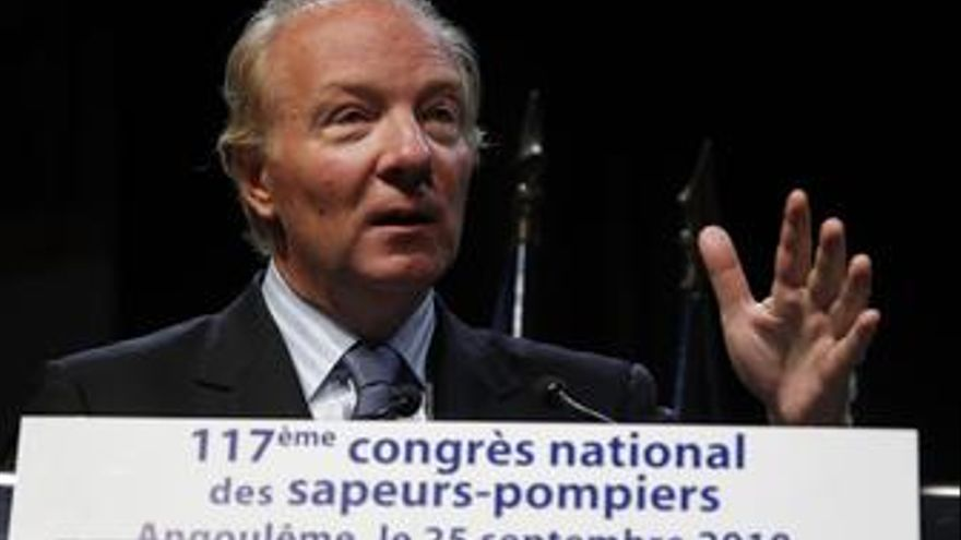Ministro de Interior francés, Brice Hortefeux