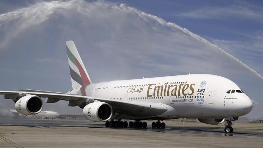 Emirates reduce vuelos en 5 ciudades de EEUU por nuevas medidas de seguridad