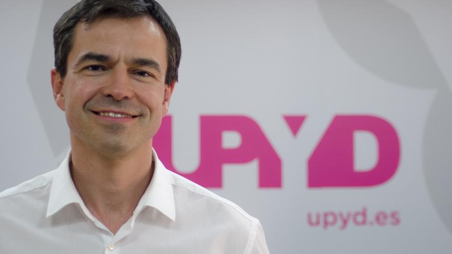 Andrés Herzog, candidato al Congreso por UPyD \ Foto: Alejandro Navarro Bustamante