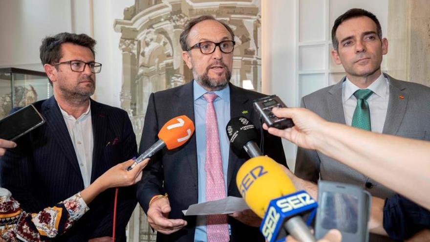 Vox advierte a Cs en Murcia: Tiene que haber un acuerdo de todos los partidos
