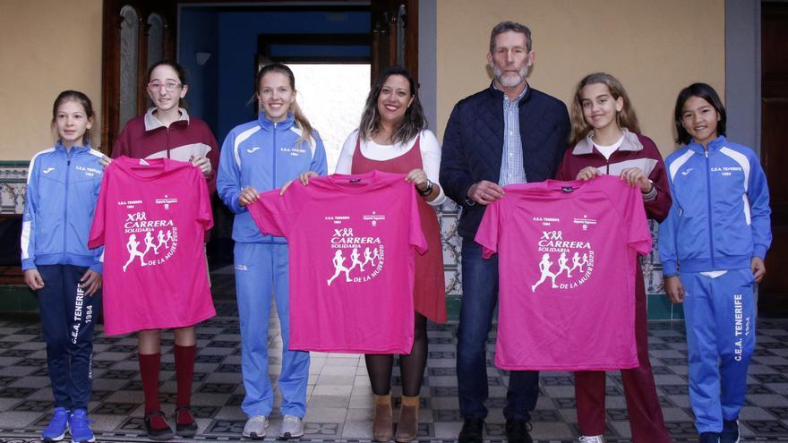 La Carrera de la Mujer está organizada por el CEAT en colaboración con el Ayuntamiento de La Laguna.